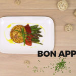 recette-asperges vertes et blinis de celeri